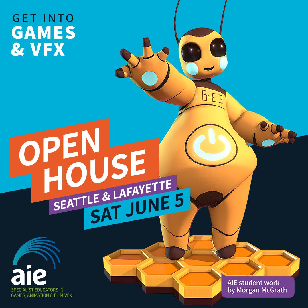 Open House Square Image June 2021 | AIE Seattle