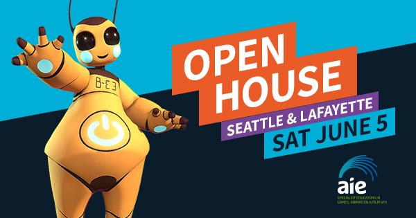 AIE OPEN HOUSE – JUNE 5TH 2021