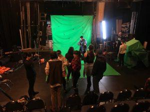 Behind the Scenes VFX Film Shoot 06 | AIE