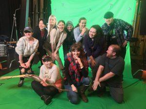 Behind the Scenes VFX Film Shoot 05 | AIE