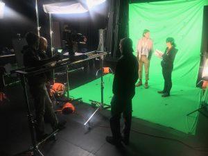 Behind the Scenes VFX Film Shoot 04 | AIE