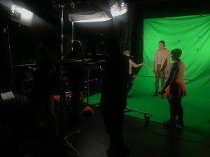 Behind the Scenes VFX Film Shoot 01 | AIE