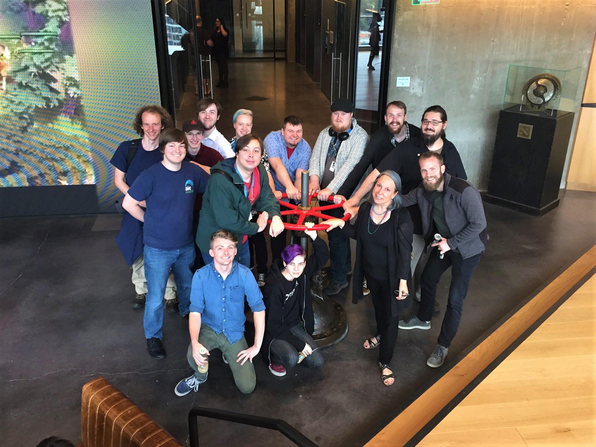 A Tour Inside Valve Headquaters 02 | AIE Seattle