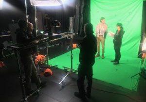 Behind the Scenes VFX Film Shoot 04   AIE